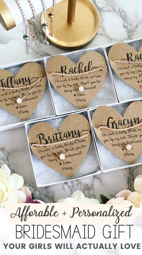 """Affordable & personalized bridesmaid gift favor that is the perfect surprise your girls will love! Timeless bridesmaid gift idea. This """"will you be my bridesmaid?"""" gift is a must-have. Check out more wedding favors, bridesmaid gifts and more at Love Leigh Gift Co. #weddings #bridesmaidideas #bridesmaidgiftideas #weddingfavors #weddinggifts #weddingfavoridea #bridesmaidpartygift #willyoubemybridesmaid #weddingideas #bridesmaidfavorideas #weddingplanning #springwedding"""