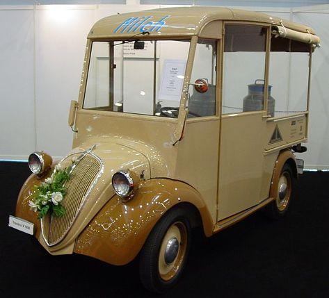 Fiat Topolino Milk float
