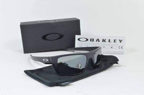 bb4bd0a1c17 Oakley DROP POINT Matte Black Prizm Black Polarized OO9367-0860 NIB  fashion   clothing  shoes  accessories  mensaccessories   sunglassessunglassesaccessories