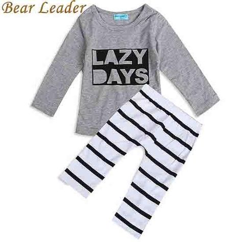 for 0-3 Years Old Newborn Kids Baby Girls Boys Outfits Clothes Fox Pullover Sweatshirt Tops+Pants Outfits Set Clode Baby Outfit