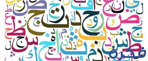 تفسير رؤية الحروف الابجدية في المنام موقع فكرة Alphabet Art Arabic Alphabet Letters Lettering Design