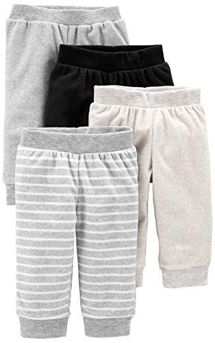 Simple Joys by Carters B/éb/é fille 4-pack Fleece Pants