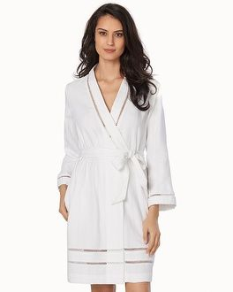 Soma Intimates Luxe Cotton Short Spa Robe c1607622a
