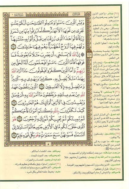 تحميل القرآن الكريم وبهامشه التفسير القويم ملون Bullet Journal Journal