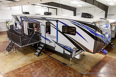 2019 Luxury Side Deck 5th Wheel Toy Hauler 40d12 Touring Edition