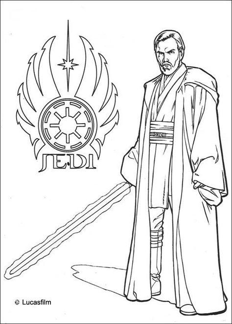 Luke Skywalker coloring sheet. More Star Wars coloring pages on ...