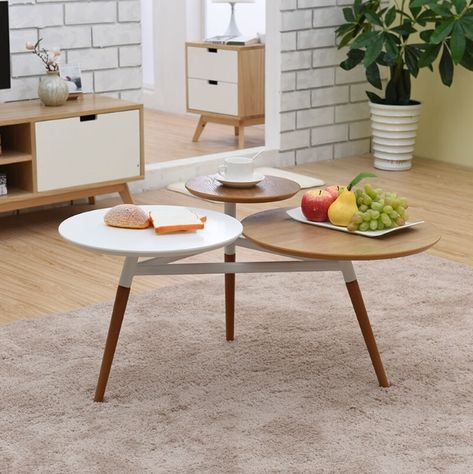 Lr156 3 Tier Round Coffee Table With Images Coffee Table