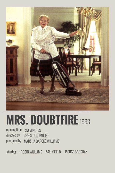 Mrs. Doubtfire by Megan