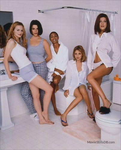 Scream 2 (Ph: Mark Seliger) Heather Graham, Neve Campbell, Jada Pinkett Smith,Sarah Michelle Gellar, and Tori Spelling.
