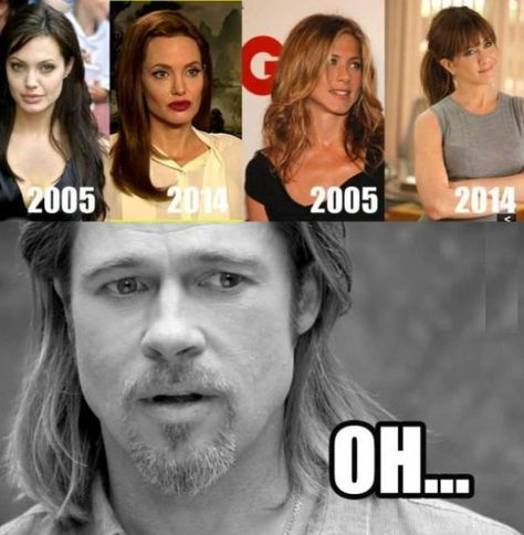 If Karma had a Face ! 10 Jennifer Aniston Funny Memes Over Brangelina Divorce! is part of Celebrities funny - Funny hilarious Hollywood Memes, Funny Jennifer Aniston , Brad Pitt, Angelina Jolie Funny Memes Best 10 hilarious hollywood Memes Angelina
