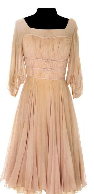 The authentic Liesl's Dancing Dress worn by Charmian Carr for the 16 Going on 17 dance scene.  #soundofmusic #soundofmusiccostume More info here: http://www.edelweisspatterns.com/blog/?p=3950