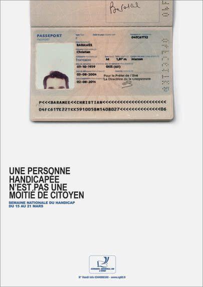 Semaine Nationale Des Personnes Handicapees Euro Rscg C O Personnes Handicapées Nationale Personnes