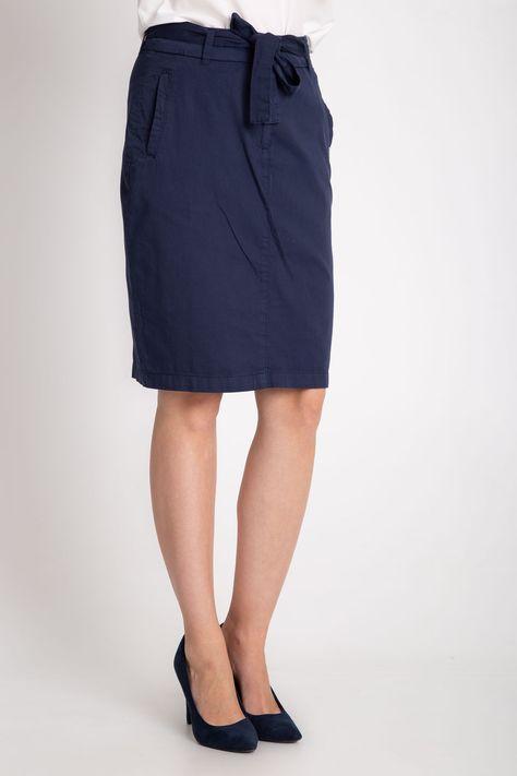 spódniczka w kratkę h&m | spódnica za kolano | różowa
