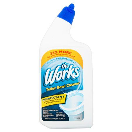 Household Essentials Toilet Bowl Cleaning Spray Toilet Cleaning