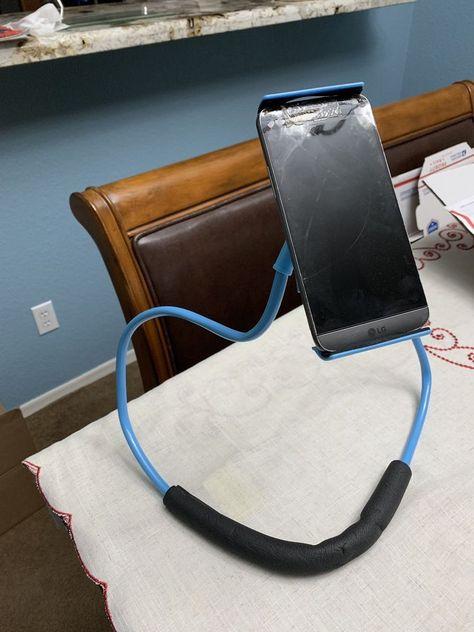 desk phone holder deskphoneholder phoneholder iphoneholder rh pinterest ru