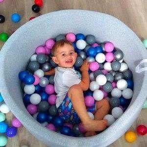 Suche Baseniki Z Kolorowymi Pileczkami Dla Dzieci Babyball Pl Baby Ball Learning Colors Swimming Pools
