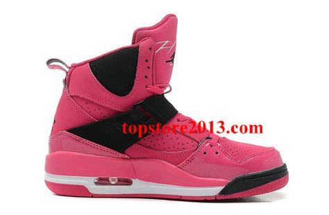 78973d849e93 Womens Jordan Flight 45 High Vivid Pink Black