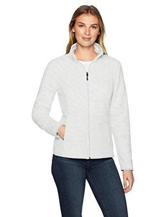 : Amazon Essentials Women's Full Zip Polar Fleece
