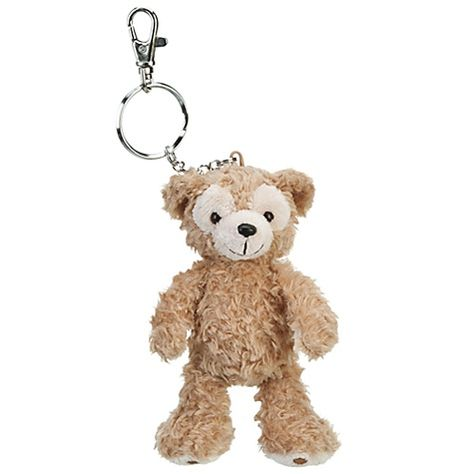 This lil Duffy goes everywhere with me! I clip him on my bag!