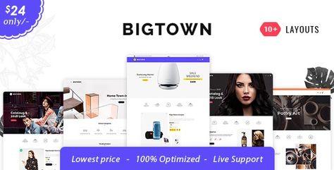 Bigtown — Opencart 3 Multi-Purpose Responsive Theme | Stylelib
