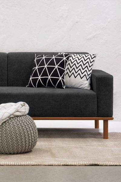 The Cairo 3 Seater Sofa Offers A Classy Look For Your Apartment