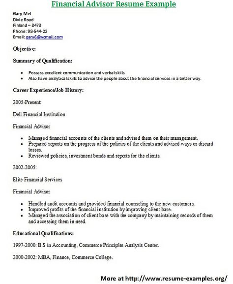 Resume Sample From ResumebearCom Find Great Tips For Writing