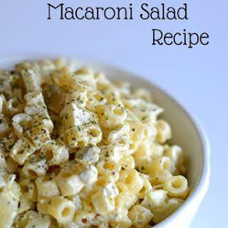 Best Macaroni Salad Recipe Yummly Recipe Best Macaroni Salad Best Pasta Salad Macaroni Salad Recipe