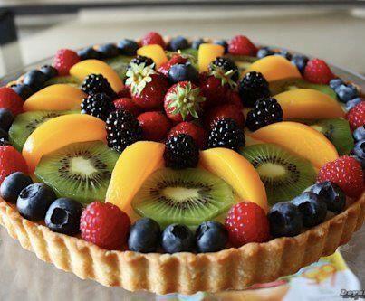 Crostata di frutta/Fruit Pie