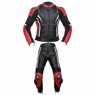 Suzuki Motorbike 1PC Suit Leather Motorcycle Sport Biker Racer Armour Protective