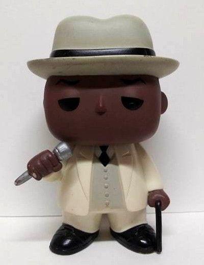 Rocks Notorious BIG Biggie Smalls with Fedora Vinyl Figure Funko POP