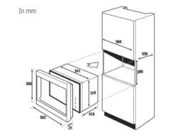 microwave oven size standard google