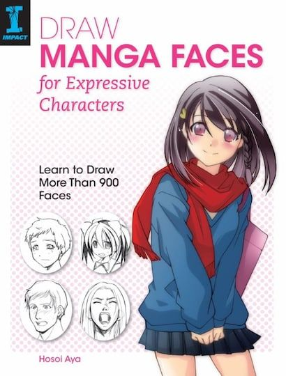 Draw Manga Faces For Expressive Characters Learn To Draw More Than 900 Faces Anime Drawing Books Learn To Draw Manga Drawing Books