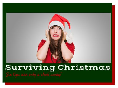 Six Tips for Surviving Christmas. Admit it, we all need a little help. #Christmas #tips