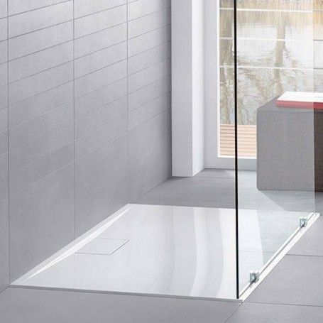 Villeroy Boch 1000x800x15 Architectura Metalrim Rectangle Shower Tray For The Best Price And Shipping Throughout All E Shower Tray Villeroy Boch Shower Floor