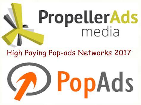 Best High Paying Pop Under Ads 2017 Adsense Alternatives 2017