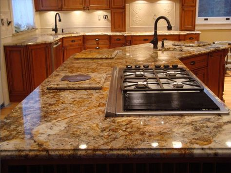 13 Different Types Of Kitchen Countertops Buying Guide Cost Estimates Cheap Granite Countertops Granite Kitchen Counters Types Of Kitchen Countertops