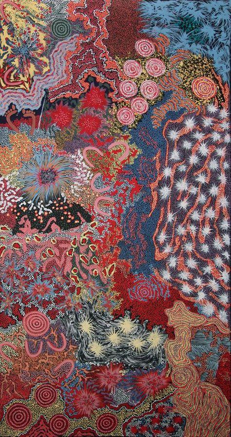 Australian Aboriginal Art Painting by GABRIELLA POSSUM