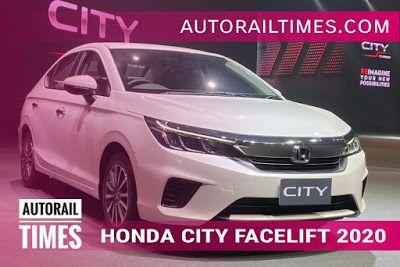 All New Honda City 2020 Revealed Launch In Mid 2020 Honda City New Honda Honda