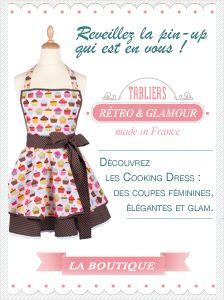 tablier-cuisine-coeur-bleu … | Pinteres…