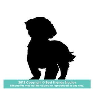 Shih Tzu Silhouettes Google Search Shihtzu Dog Silhouette Dog Tattoos Shih Tzu