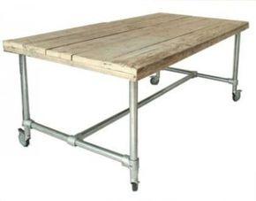 Aus Rohren Möbel bauen Tisch mit Rohren * DIY Anleitung