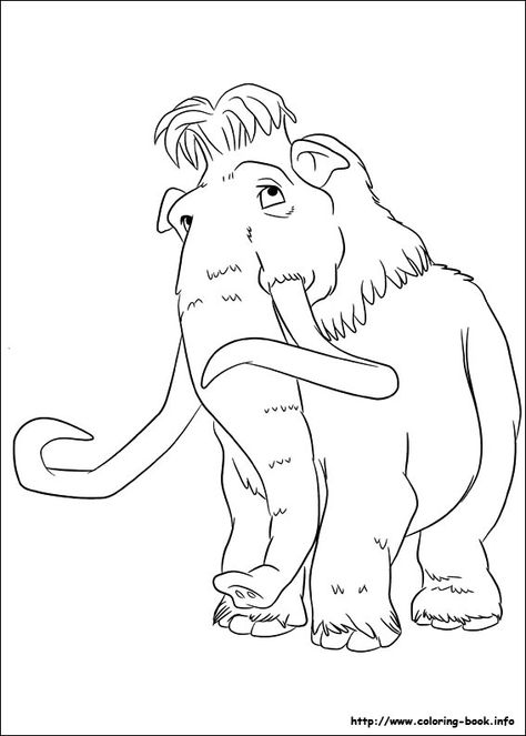 Ice Age : Continental Drift coloring picture | Coloring and ...