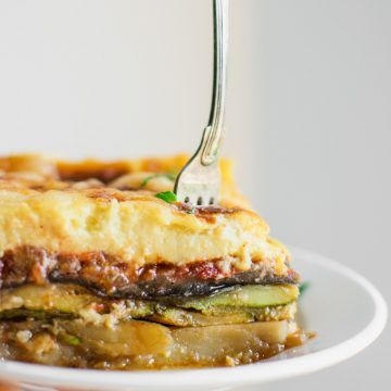 The Most Scrumptious Vegetarian Moussaka Real Greek Recipes Recipe Greek Recipes Moussaka Recipes