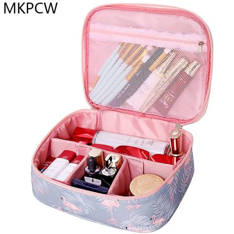 f4f7f4947b  15.53 - Nice Neceser waterproof Women Makeup bag Cosmetic bag Case Travel Make  Up Toiletry bag Organizer Storage pouch set box professional - Buy it Now!