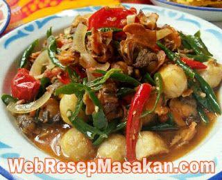 Resep Tauco Kerang Masak Cabe Hijau Resep Masakan Resep Masakan Malaysia Masakan