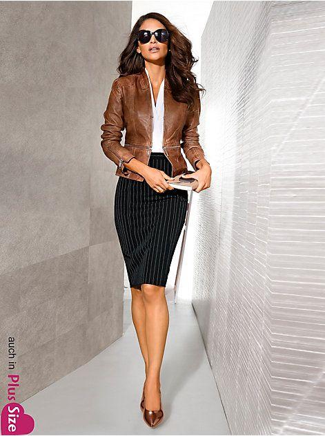 online store 0962c 05592 Stiftrock mit Nadelstreifen | Fabulous Fashion | Mode, Mode ...