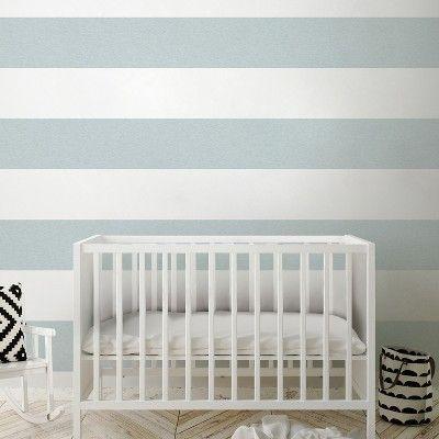 Peel Stick Wallpaper Big Stripe Gray Cloud Island Target Peel And Stick Wallpaper Kids Room Wall Decor Grey Clouds