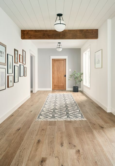 Our stylish ADURA®Max vinyl flooring is waterproof, dent resistant, and scratch and stain resistant. View designs now. Waterproof Flooring, Wood Vinyl, Vinyl Planks, Luxury Vinyl Plank, Home Remodeling, New Homes, House Design, Decoration, Vinyl Flooring Basement