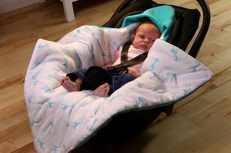 Baby Einschlagdecke Babyfußsack Babyschale Kinderwagen Buggy Minky Decke Winter