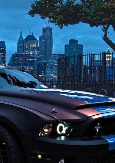 Ford Mustang Night Street Car Wallpapers Car Wallpapers Car 82 Mustang Iphone Wallpapers On Wallpaperplay Best C Car Wallpapers Mustang Cars Wallpapers Mustang